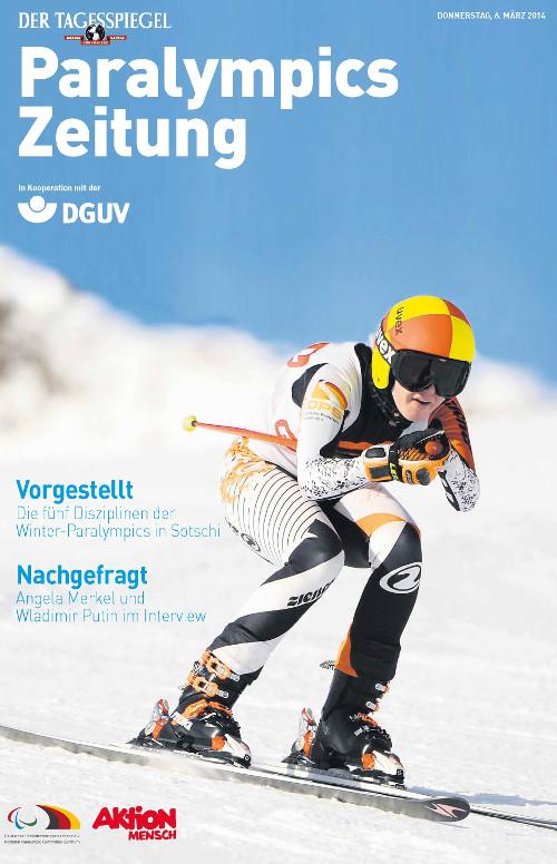 Grafik: Paralympics Zeitung