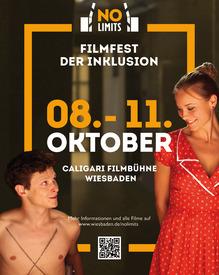 "Plakat ""No Limits - Filmfest der Inklusion"" | © wiesbaden.de"