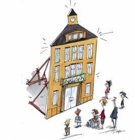Zeichnung: Thomas Plaßmann